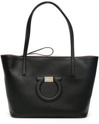 Ferragamo City Tote Bag - Black