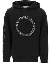 1017 ALYX 9SM Cube Chain Hoodie M Cotton - Black