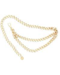 B-Low The Belt Gissel Chain Belt - Metallic