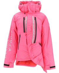 Y. Project Skreslet Padded Down Jacket - Pink