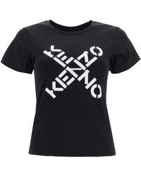 KENZO Hoodie With Logo - Black
