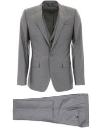 Dolce & Gabbana Three-piece Suit - Grey