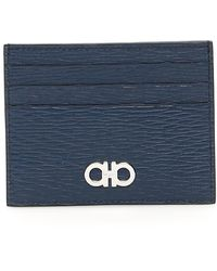 Ferragamo Credit Card Holder - Blue