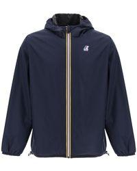Fendi X K-way Reversible Windbreaker Jacket - Blue