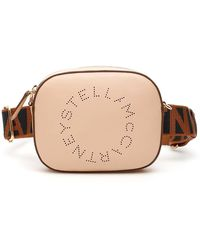Stella McCartney Beltbag With Perforated Logo - Brown