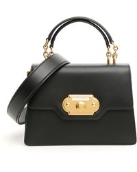 853bdc6ff7b2 Lyst - Dolce   Gabbana Welcome Tote Bag in Black