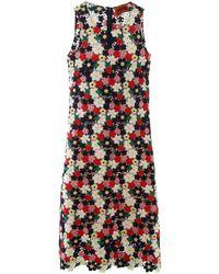 Colville Floral Lace Long Dress - Multicolour