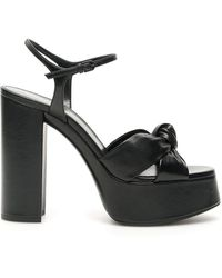 Saint Laurent Bianca Sandals - Black