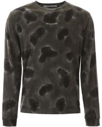 1017 ALYX 9SM Camouflage T-shirt - Black