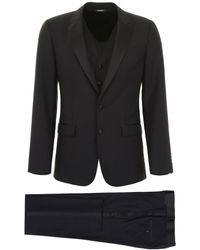 Dolce & Gabbana - Martini Three-piece Suit - Lyst
