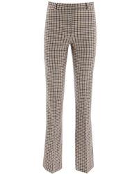 Max Mara Street Tartan Vichy Pants - Natural