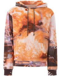 424 Explosion Hoodie S Cotton - Orange