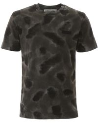 1017 ALYX 9SM T-SHIRT CAMOUFLAGE STAMPA LOGO - Multicolore