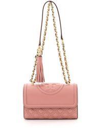 Tory Burch Fleming Small Convertible Shoulder Bag - Pink