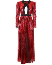 Philosophy Sequined Dress - Red