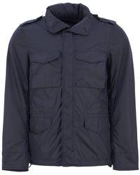 Aspesi Minifield Vento Jacket - Blue