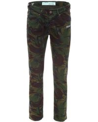 Off-White c/o Virgil Abloh - Diag Camouflage Jeans - Lyst