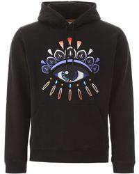 KENZO Eye Embroidery Hoodie - Black