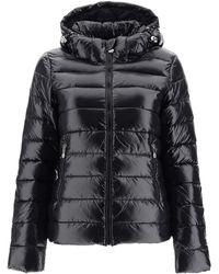 Pyrenex Spoutnic Shiny Down Jacket - Black