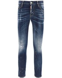 DSquared² JEANS FIT SEXY TWIST - Blu