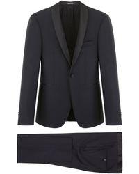 Tagliatore Two-piece Suit 48 Wool - Black