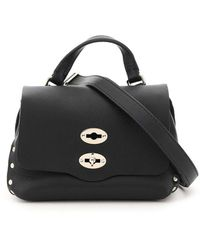 Zanellato Heritage Postina Baby Bag Os Leather - Black