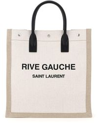 Saint Laurent Rive Gauche Noe Bag - Natural