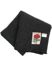 Kent & Curwen Sciarpa blanket - Nero