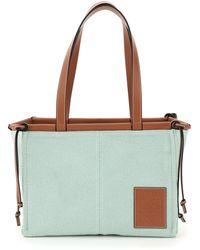 Loewe Small Cushion Tote Bag - Green