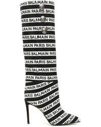 vestibilità classica 24d1c dfcf5 Stivali Logo Jacquard Jane - Nero