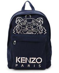 KENZO Kampus Tiger Backpack - Blue