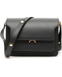 Marni Trunk Medium Bag - Black