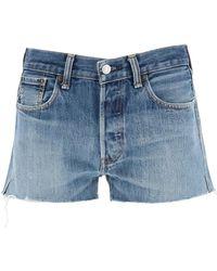 RE/DONE Levi's Denim Shorts - Blue