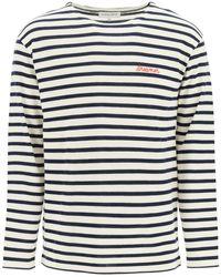 Maison Labiche The Colombier Dream Long Sleeves T-shirt S Cotton - Blue