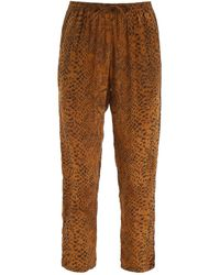 Mes Demoiselles Kung Trousers - Brown