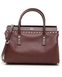 Valentino Rockstud Work Bag - Multicolour