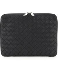 Bottega Veneta DOCUMENT CASE HIDROLOGY MEDIUM - Nero