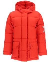 KENZO Sport Little X Down Jacket - Red