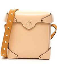 MANU Atelier Mini Pristine Bag - Natural