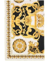 Versace FOULARD STAMPA BAROCCO - Giallo