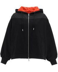 MCM Reversible Sweatshirt With Patches M Cotton,technical - Black
