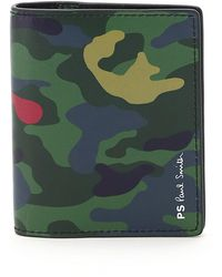 PS by Paul Smith Camo Card Holder - Green