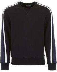 Alexander McQueen Sweatshirt With Embroidered Logo - Black