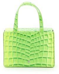 AMINA MUADDI Amini Giorgia Bag Os Leather - Green