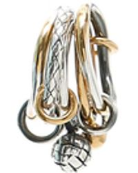 Bottega Veneta - Dichotomy Ring - Lyst