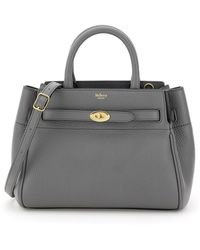 Mulberry BORSA BELTED BAYSWATER SMALL - Grigio