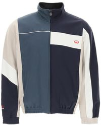 Martine Rose Track Jacket With Logo - Blue