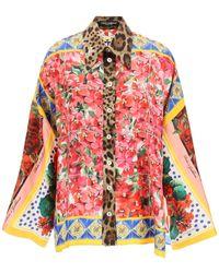 Dolce & Gabbana Printed Shirt Silk - Multicolour