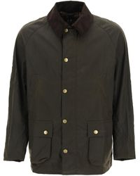 Barbour GIACCA CERATA ASHBY - Multicolore