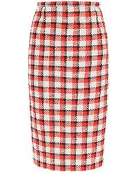 N°21 - Tweed Pencil Skirt - Lyst